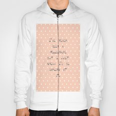 I've never been a millionaire ~ Polka Dots ~  poster ~ typography ~ illistration Hoody