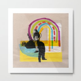 Magic rainbow Metal Print