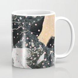 Marble with pink dots Coffee Mug