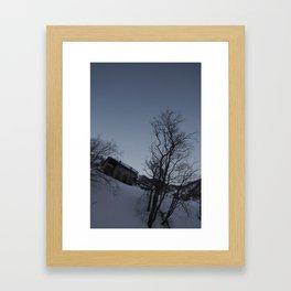 trees... Framed Art Print
