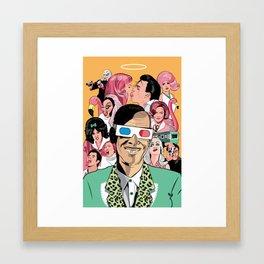 John Waters Tribute Framed Art Print