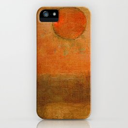 Seara Vermelha iPhone Case
