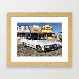 1967 Impala Route66 Framed Art Print