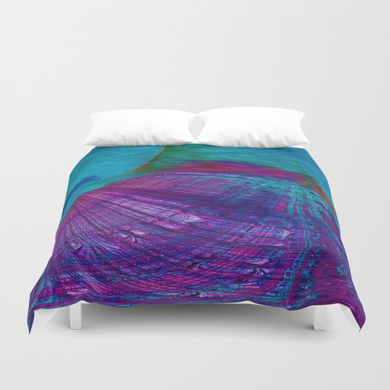 Undersea Exploration Duvet Cover