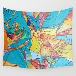 Abstract Micro Art Wall Tapestry