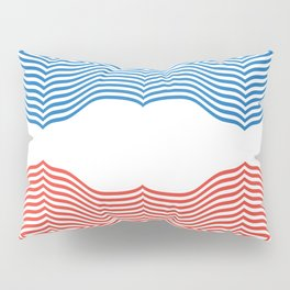 Red & Blue Pillow Sham
