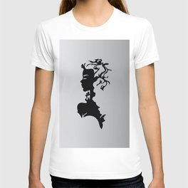 Abstract lady artwork T-shirt