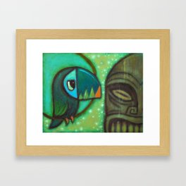 Bird of Paradise 1 Framed Art Print