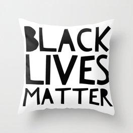 Black Lives Matter 2 Throw Pillow