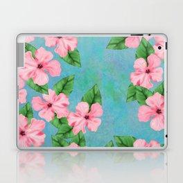 Tropical Hibiscus Malaysian Floral Print Laptop & iPad Skin