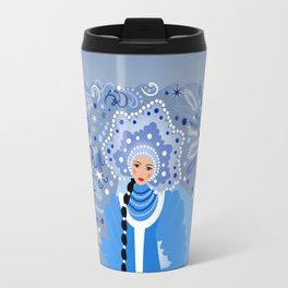 Beautiful snow maiden Travel Mug