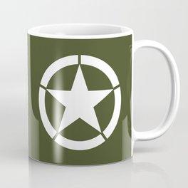 US Army Star Coffee Mug
