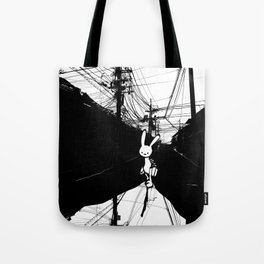 minima - beta bunny / noir Tote Bag