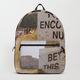 New York Art, High Line Backpack