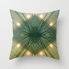Quad Tree #3 Throw Pillow