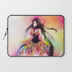 TO LEAVE OR TO STAY? Laptop Sleeve