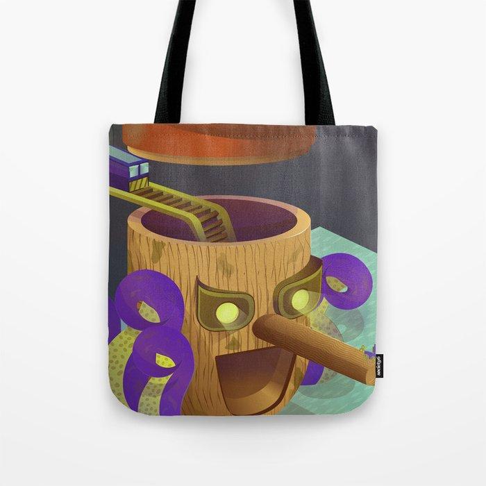 Pinoccio Story Tote Bag