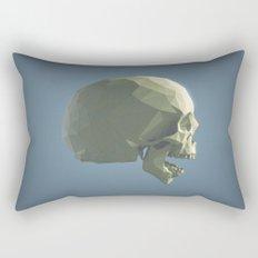 Skull - ROAR Rectangular Pillow