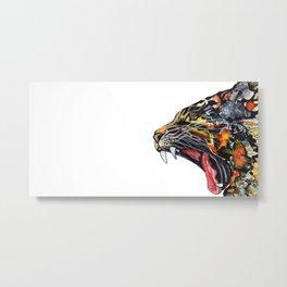 Un-Tamed Metal Print