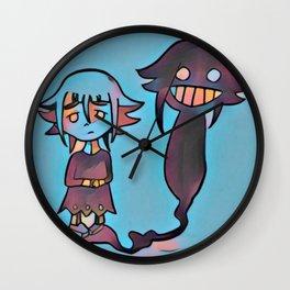Everyone has their demons Wall Clock