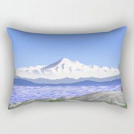 A Seat For Baker Rectangular Pillow