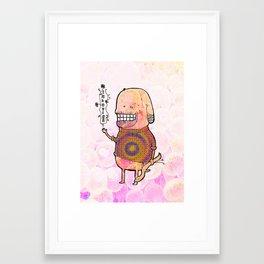 Indovina Framed Art Print