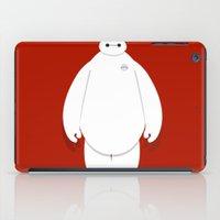 baymax iPad Cases featuring Baymax by Aya Ghoneim