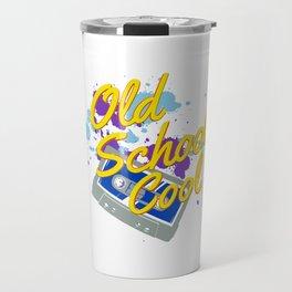 Old School Cool Cassette Tape For Music Lover Travel Mug