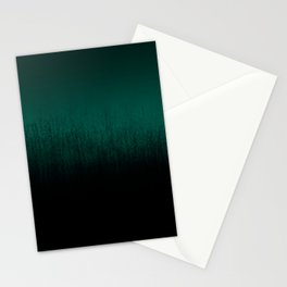 Emerald Ombré Stationery Cards