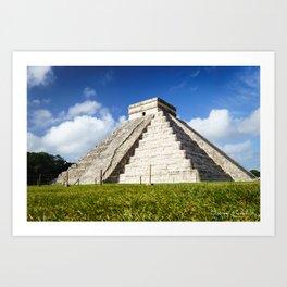Chichen Itza Yucatan Mexico Art Print