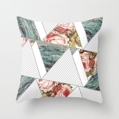 Sea roses Throw Pillow