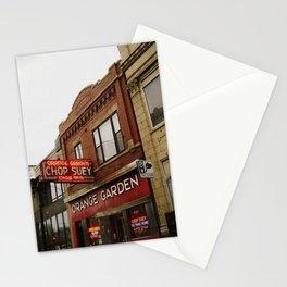 Orange Garden ~ chop suey to take home! Stationery Cards