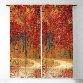 Autumn Landscape 1 | Paysage d'Automne 1 Blackout Curtain