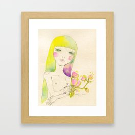 Dear. Spring Framed Art Print