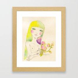 Dear. Spring Framed Art Print