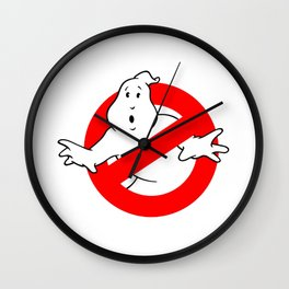 Ghostbuster Logo Wall Clock