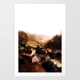 Misty Vale Art Print