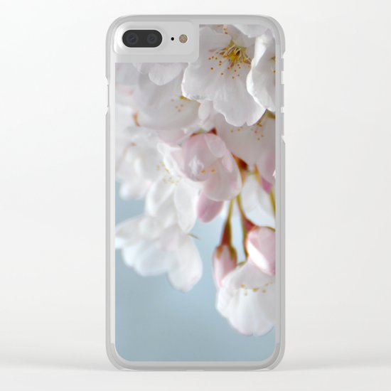 Spring Blossoms :) Clear iPhone Case