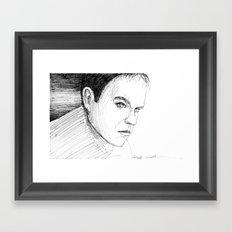 Jason Bourne Framed Art Print