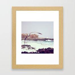 Octubre Framed Art Print