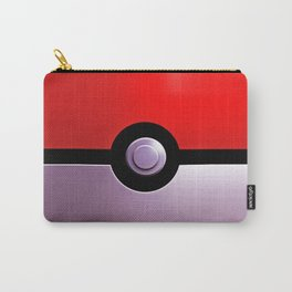 red and silver Carry-All Pouch
