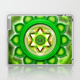 "Anahata Chakra - Heart Chakra - Series ""Open Chakra"" Laptop & iPad Skin"