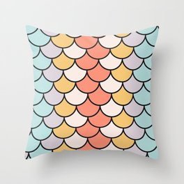 Color Twist Throw Pillow