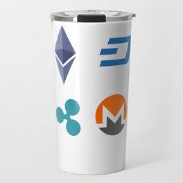 Cryptocurrencies Travel Mug
