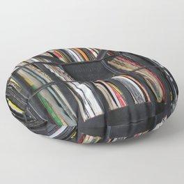 Vinyl DJ Crate Floor Pillow