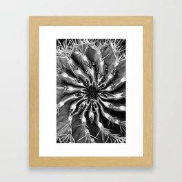 SNOWSPIRAL Framed Art Print