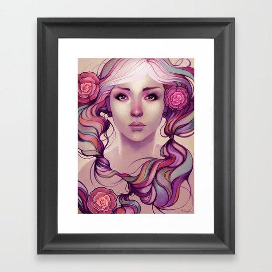 Caira Framed Art Print