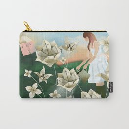 Origami Garden Carry-All Pouch