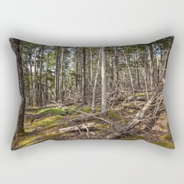 acadian woods Rectangular Pillow