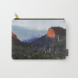 Sunrise trip to the mountains Carry-All Pouch